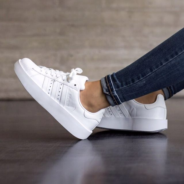 97befd698866  Adidas Superstar Bold - Triple White  BA7668