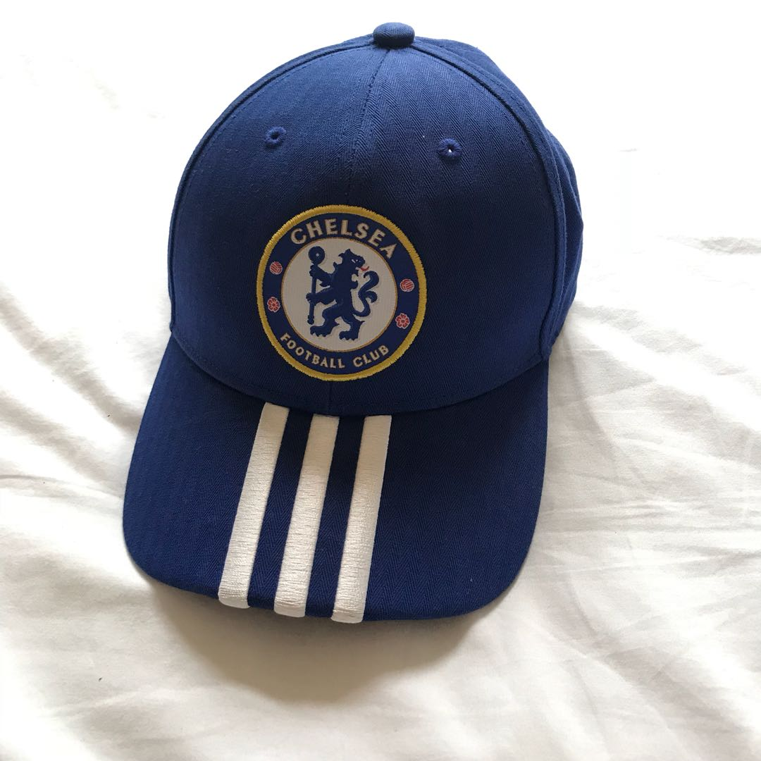 Authentic Adidas Chelsea Football Club Cap 524569ccb0e