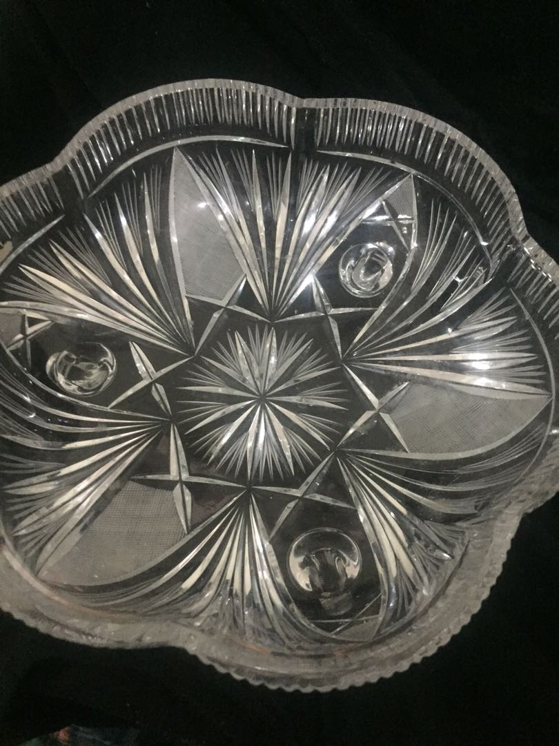 Authentic crystal bowl