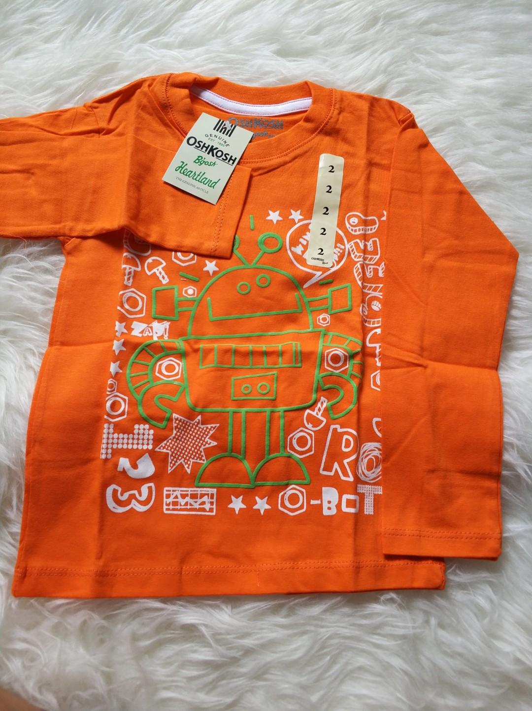 Baju Baru Habisin Stok Anak Oskosh Premium Size 2t Ld30 P40 Baruuu Kemeja Slimfit Photo