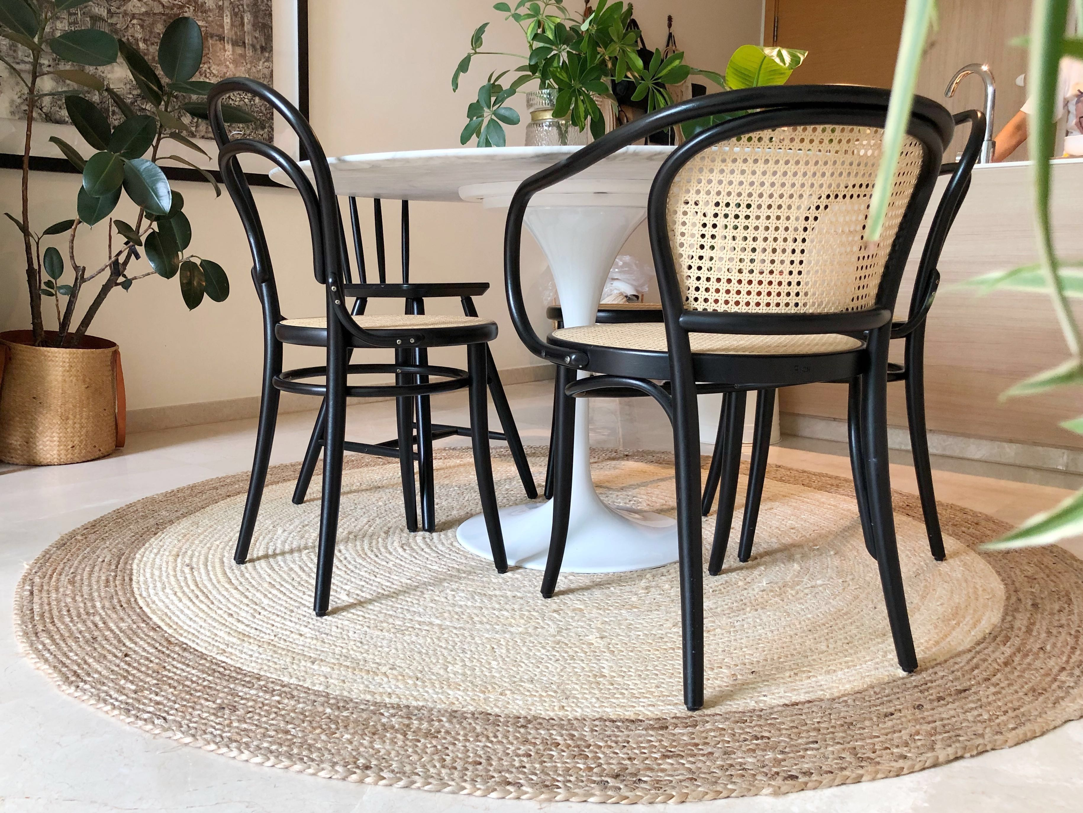 Big Jute Round Rug India 200cm Furniture Others On Carousell
