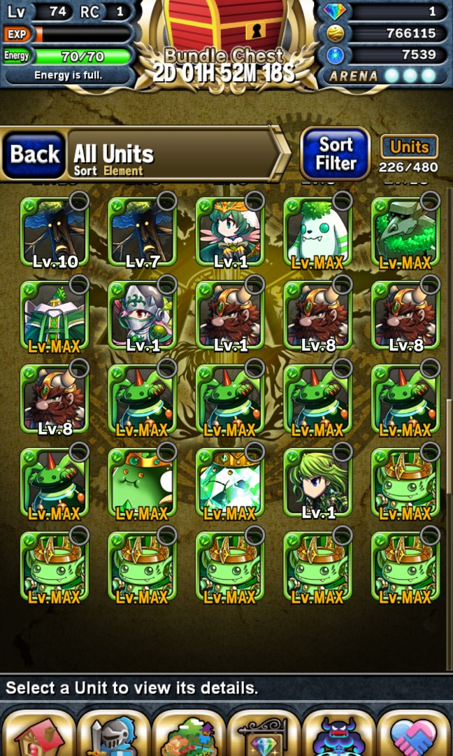 Brave Frontier Account for Sale