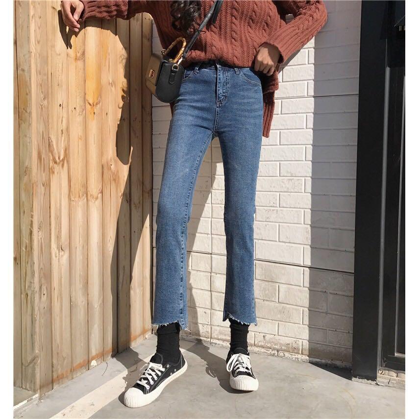 Celana Jeans Wanita Korean Style | Cantik Kekinian