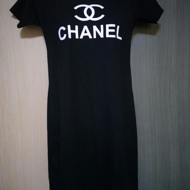 Chanel T Shirt Dress Women S Fashion Clothes Dresses Skirts On Carou