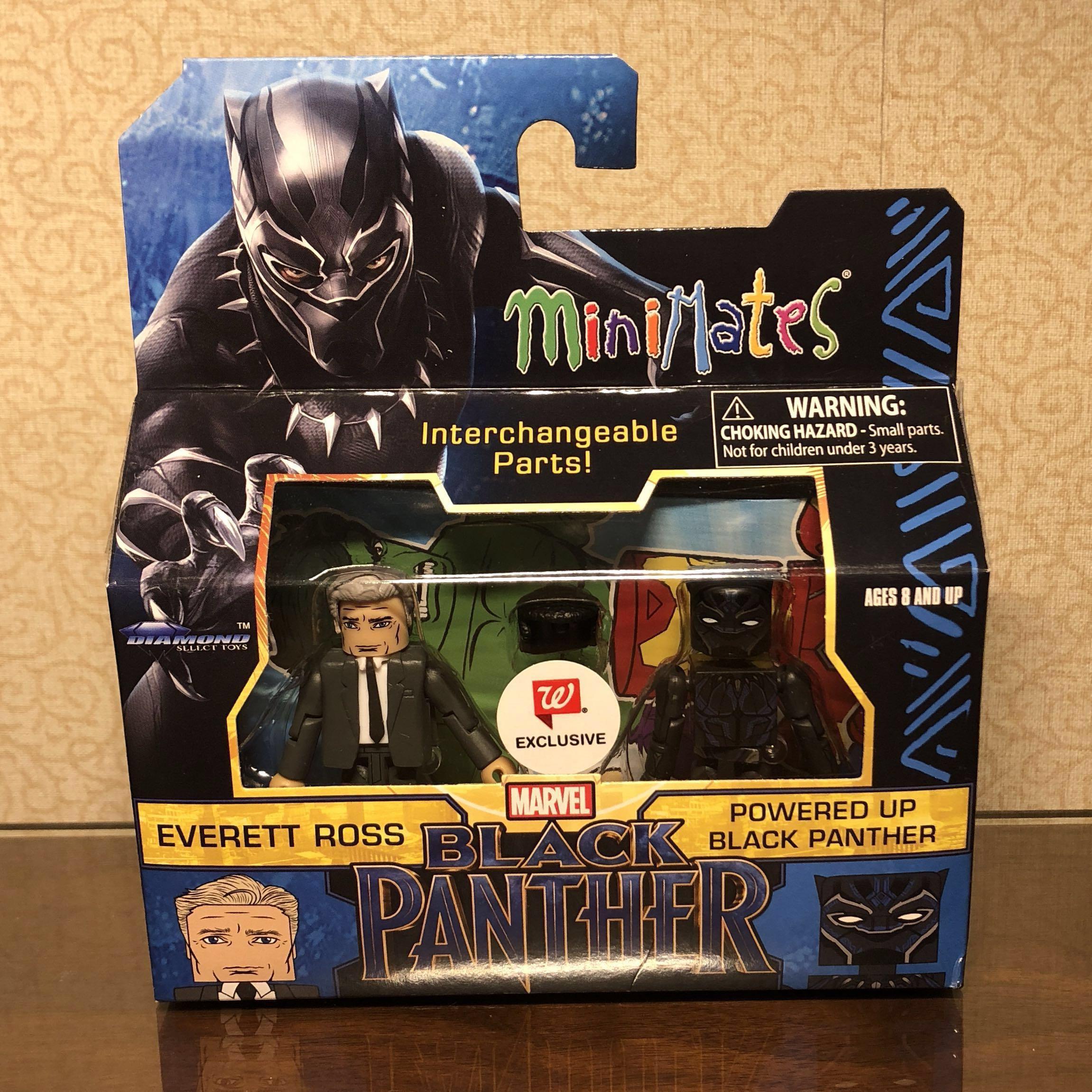 Diamond Select MiniMates Marvel Black Panther Walgreens Exclusive