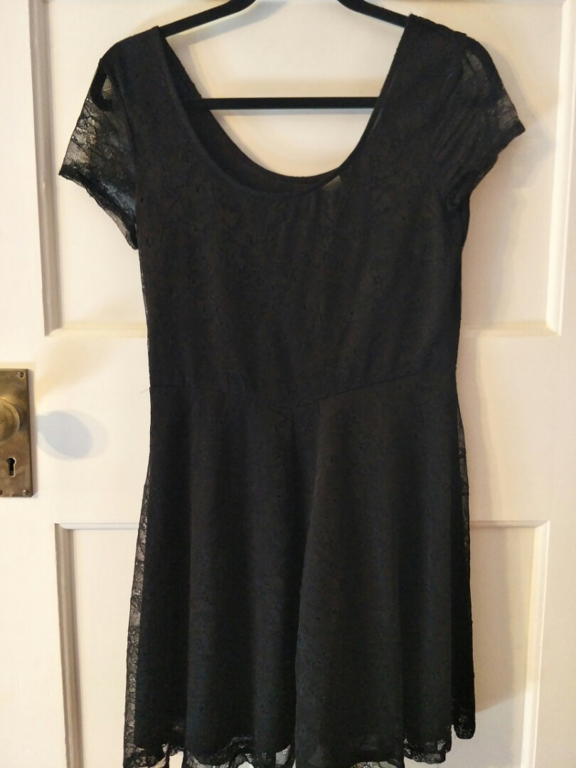 Divided by H+M lace skater dress