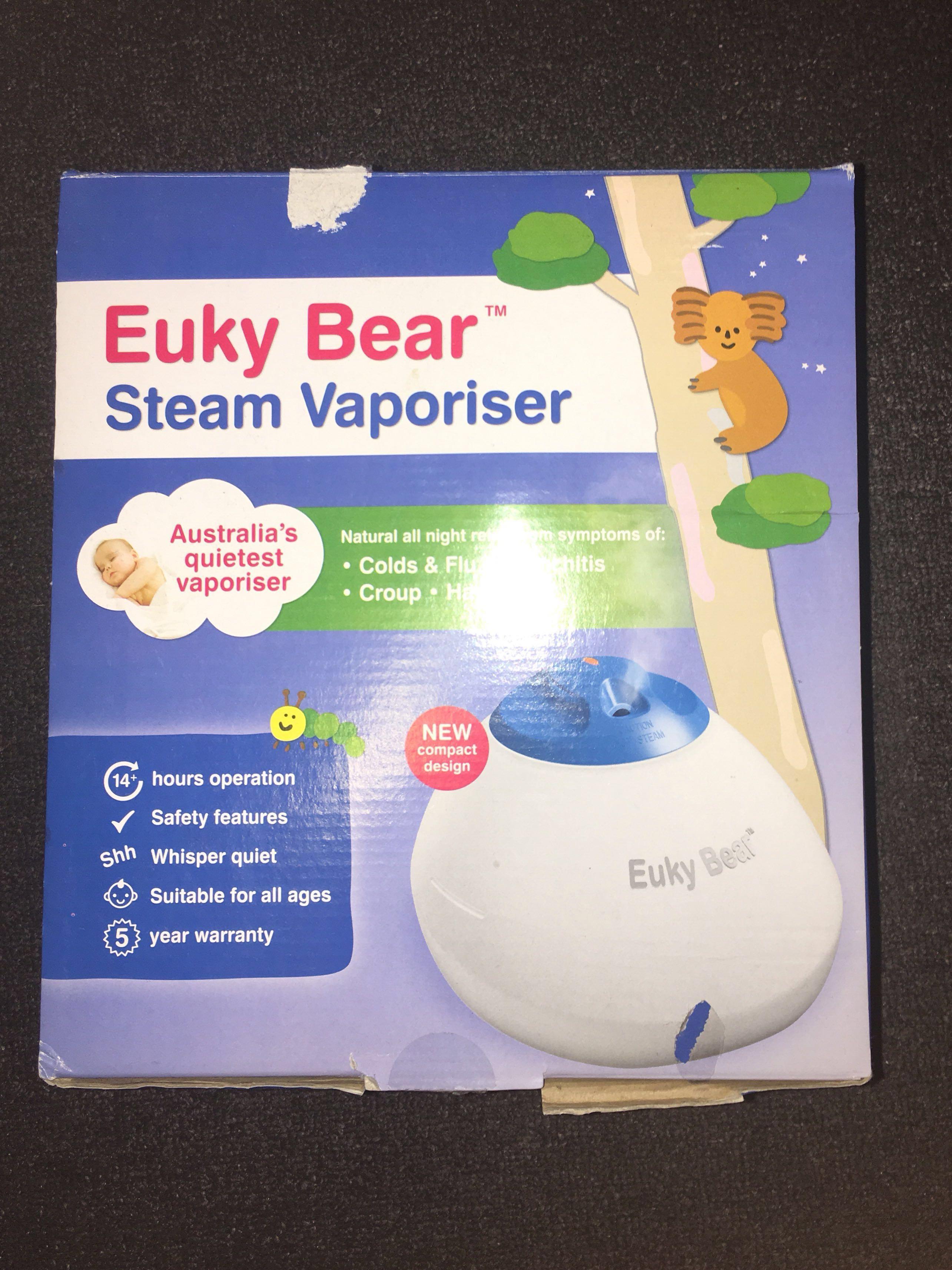 Euky Bear Steam Vaporiser - RRP $69.95