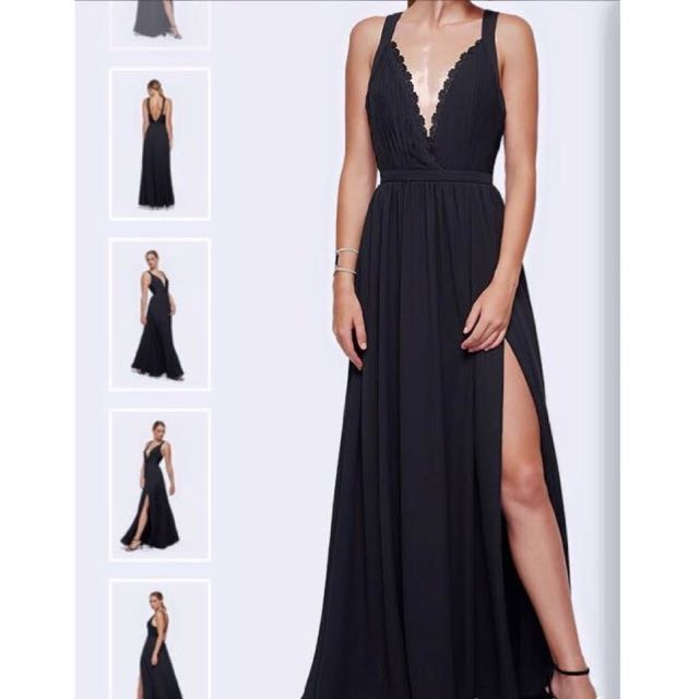 Fame and Partners Ball dress