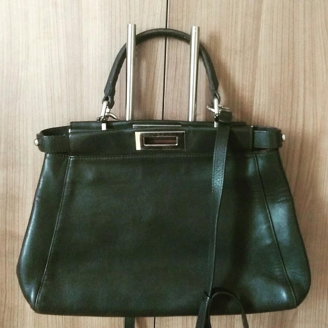 ff58f4fe2159 ... get fendi peekaboo black bag price before sale luxury bags wallets on  carousell 78fa5 bebd0 ...