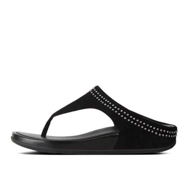 752a6e861871 FitFlop BANDA™ Suede Toe-Thong Sandals With Studs