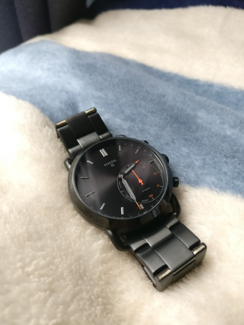 Price Cut Fossil Q Commuter Hybrid Smartwatch Brand New Extra