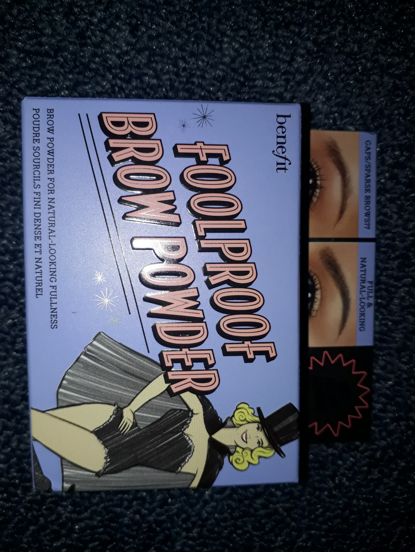 Fullproof brow benefit shade 5