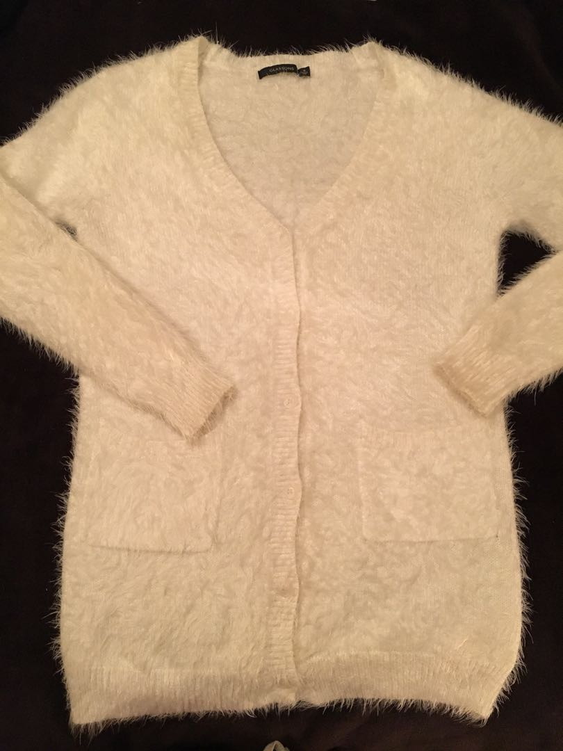 Glassons long fluffy cardi