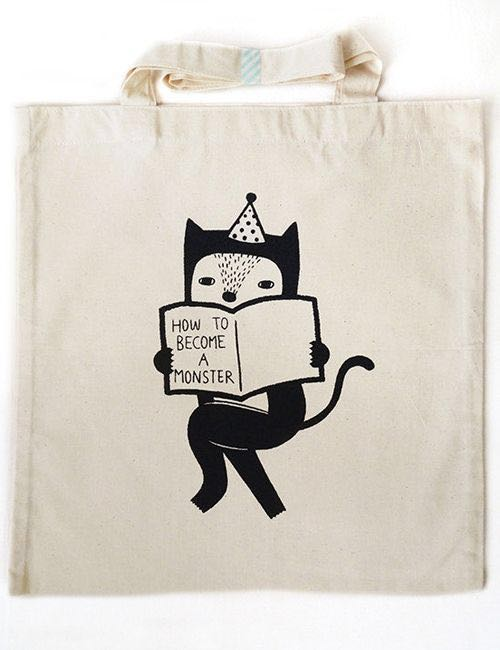 How To Become A Monster Tote Bag