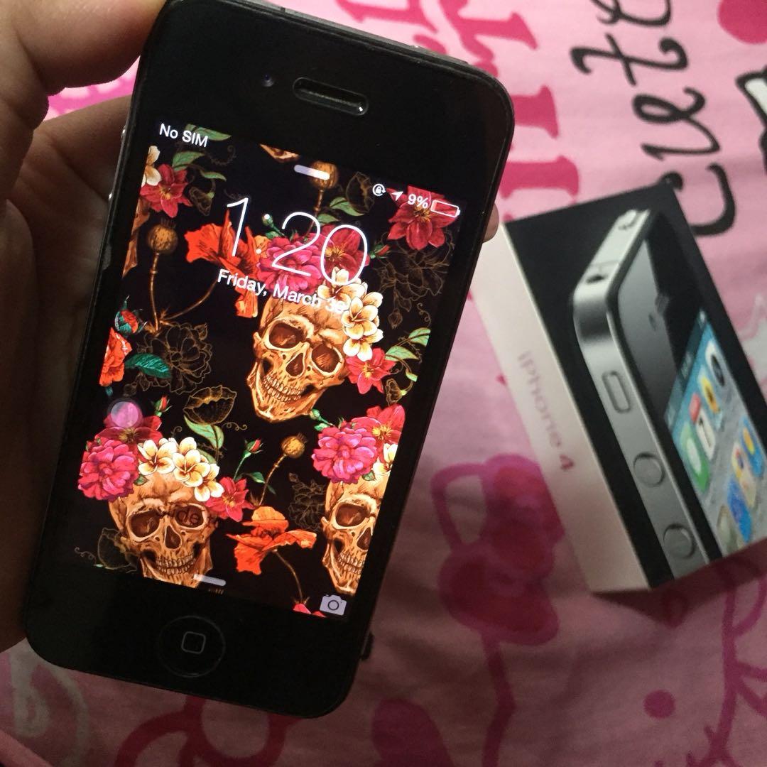 45ca3118b416ab Iphone 4 Factory Unlocked 32 gb on Carousell