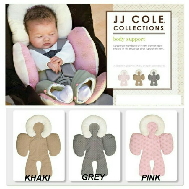 JJ COLE HEAD BODY SUPPORT BABY CAR SEAT PILLOW Babies Kids Strollers Bags Carriers On Carousell