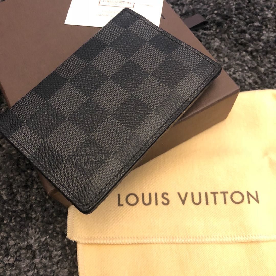 Louis Vuitton organizer card holder Damier graphite, Men\'s Fashion ...