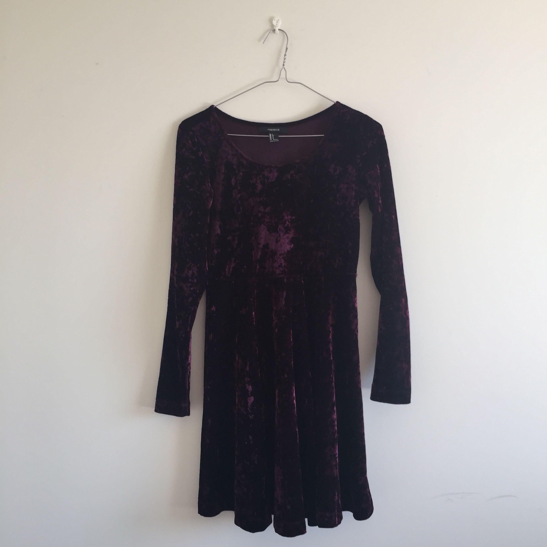 Maroon Velvet Dress ❗️