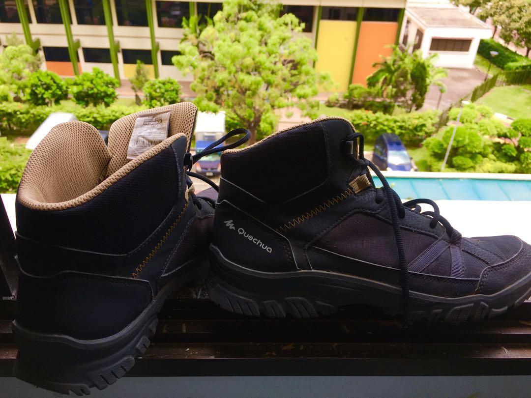 cfa6f22773d8 NH100 Mid Men s Hiking Boots- Black
