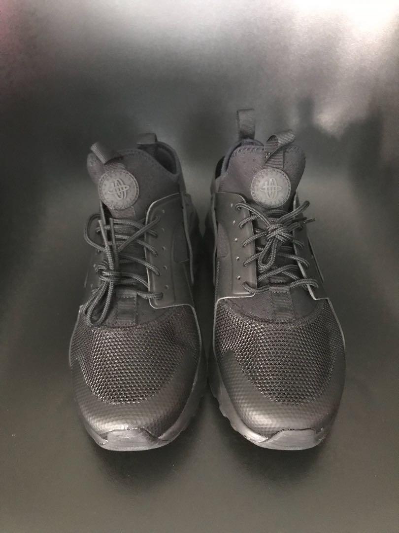 711e5e9e Nike Air Huarache Run Ultra_Triple Black, Men's Fashion, Footwear, Sneakers  on Carousell