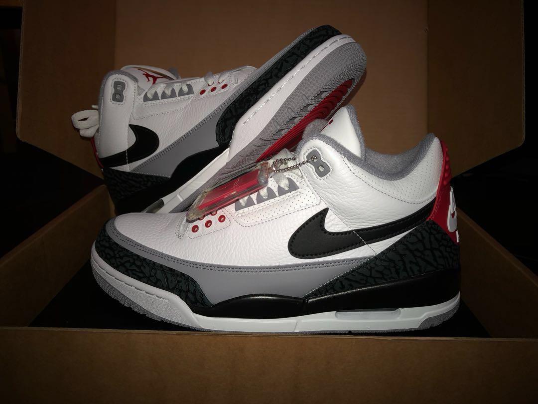 Nike Air Jordan 3 Tinker Hatfield Uk9 Us10 Men S Fashion Footwear