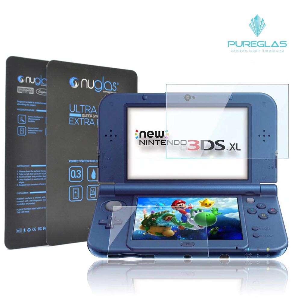 Nintendo 3DS XL Tempered Glass