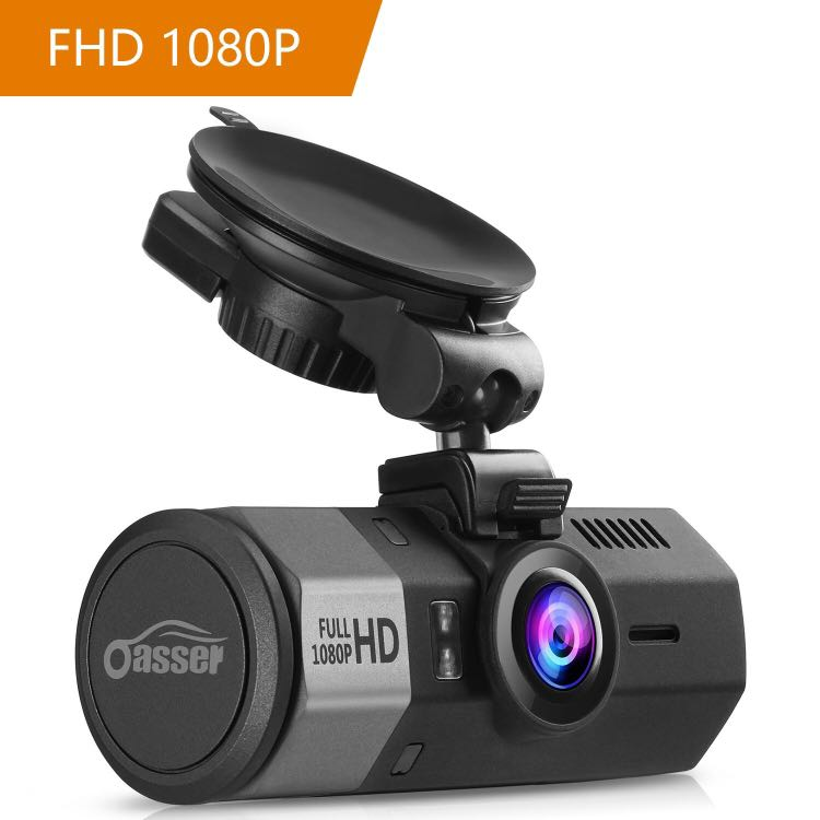 Oasser Amazing-U1 Car Dashboard Camera, GPS Tracking, 1080P FHD with  G-Sensor Parking Monitor, Motion Detection, Loop Recording