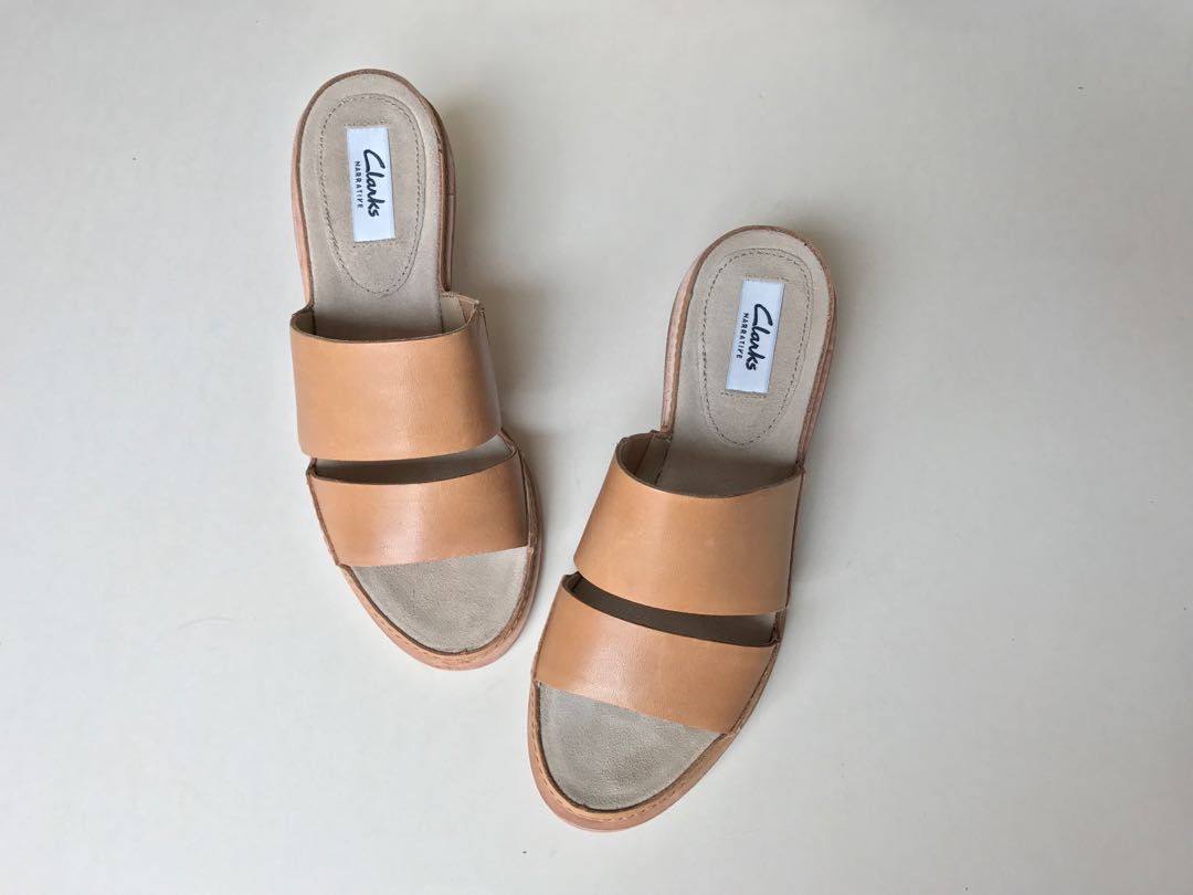 d06984c2a 💯Original Brand New CLARKS Leather Ladies Sandal