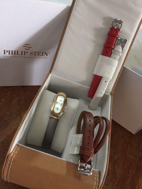 Philip Stein Mini with 4 straps