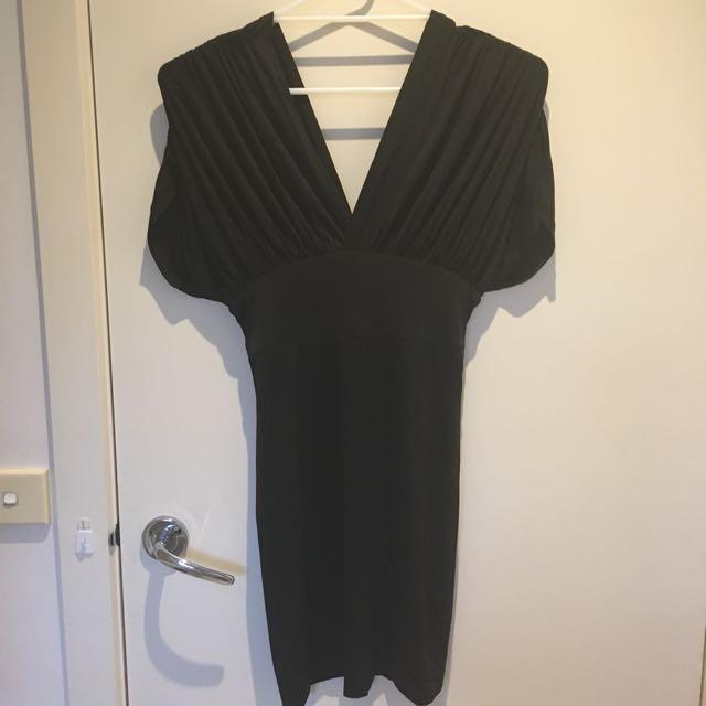 Pilgrim sexy black mini dress LBD