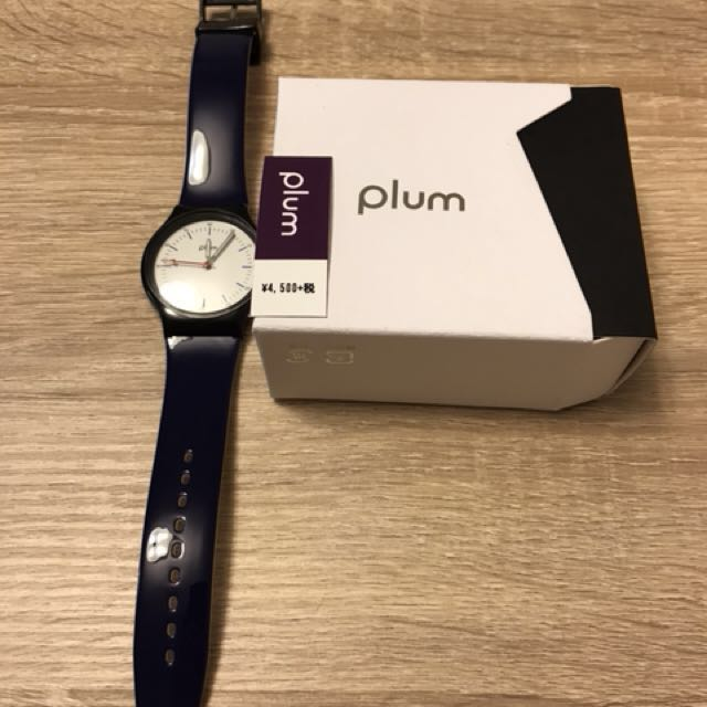 Plum men's watch