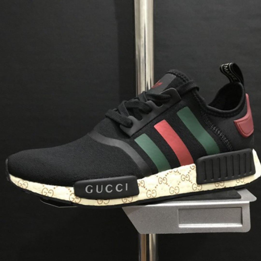 online store 12e71 52e26 PO SHOES] Adidas NMD R1 X GUCCI Black, Bulletin Board ...