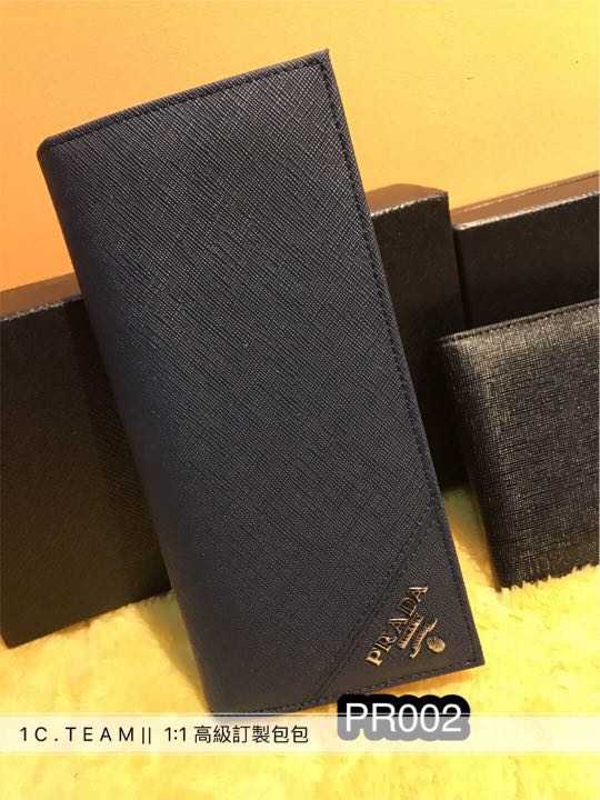 3678f6c7c758 ... best price prada men wallet mens fashion bags wallets on carousell  77d72 381aa ...