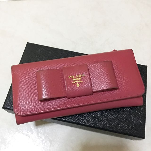 fbdaf2b0f65b ... new zealand prada ribbon wallet easter20 luxury bags wallets on  carousell cc15d 62844