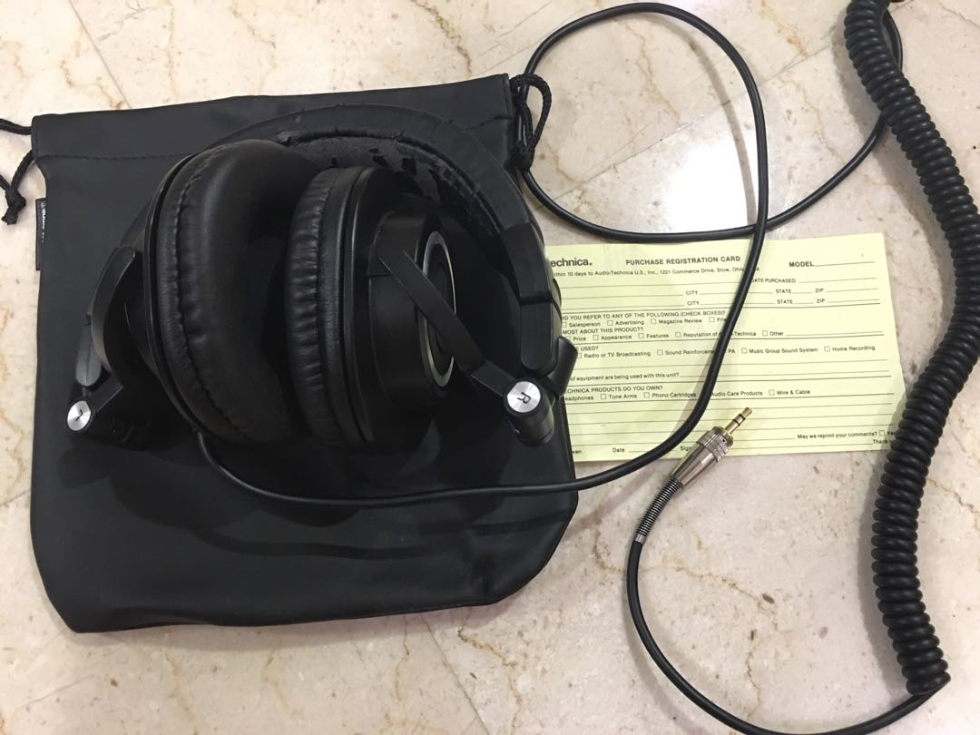 42e8c10672c Preloved Audio Technica ATH-M50