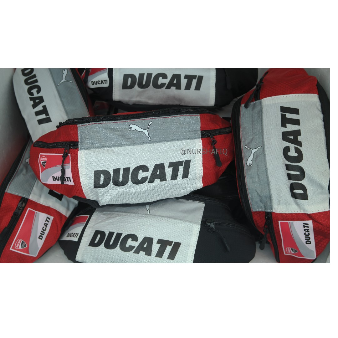 500e19d1313a PUMA DUCATI POUCH   WAIST BAG (RED WHITE COLOUR)