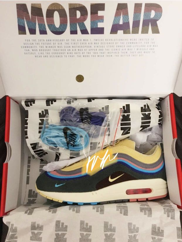 52ce4875cd26 Sean Wotherspoon x Nike Air Max 1 97
