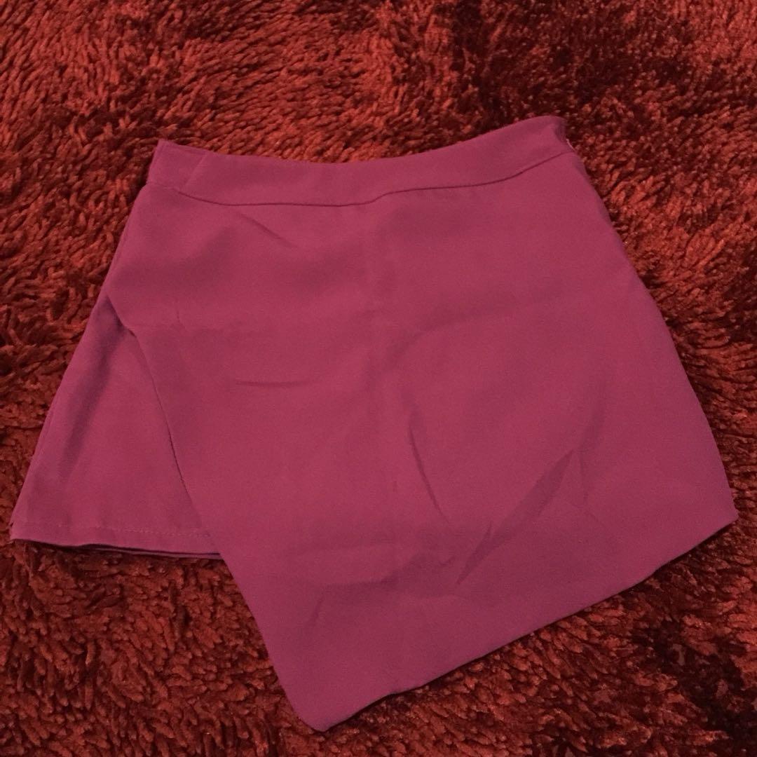 Skort Pink fushcia