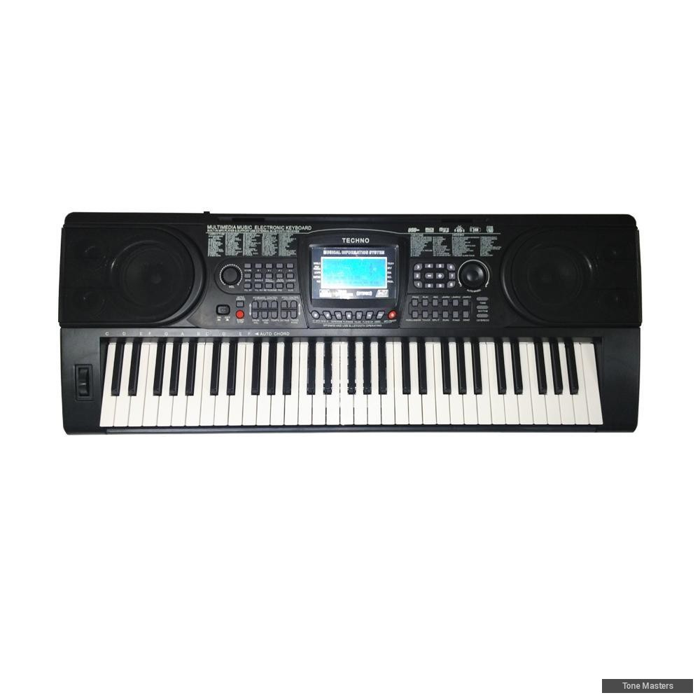 Keyboard Piano Techno T 8300i Update Daftar Harga Terbaru Indonesia Alat Musik 9100 Hitam 9890i Electronic Music Media Instruments On Carousell