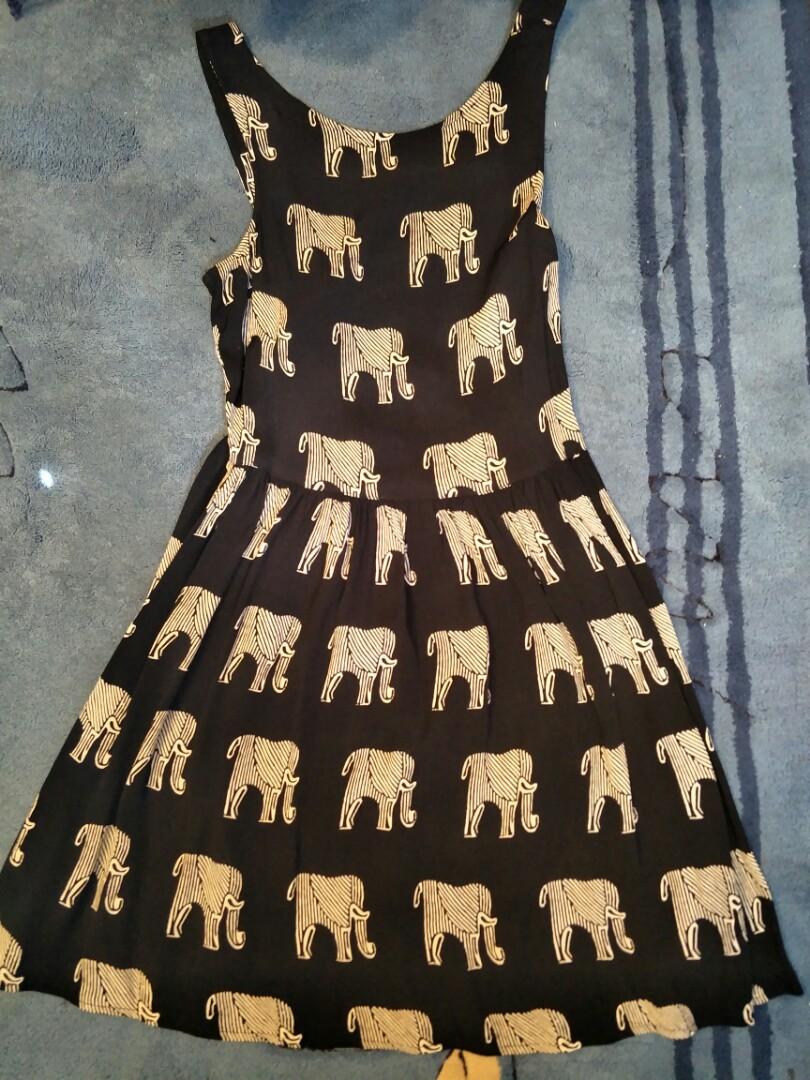 Top Shop elephant party dress