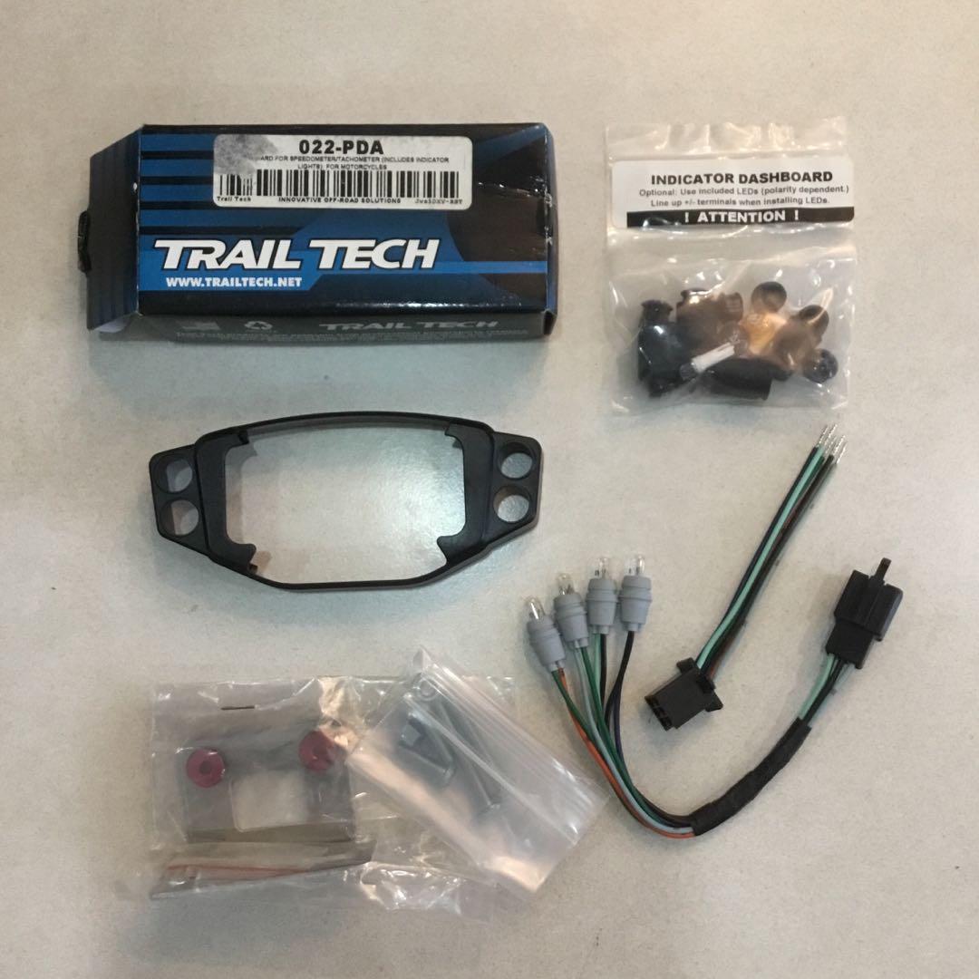Trail Tech 022-PDA Vapor//Vector//Striker Indicator Dashboard
