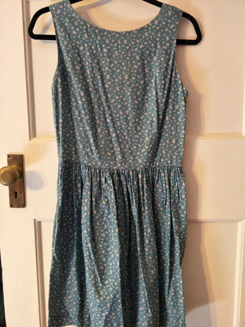 Trois Filles Teal dress