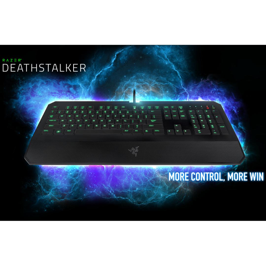 216597524f4 Used Razer DeathStalker Essential – Membrane Gaming Keyboard ...