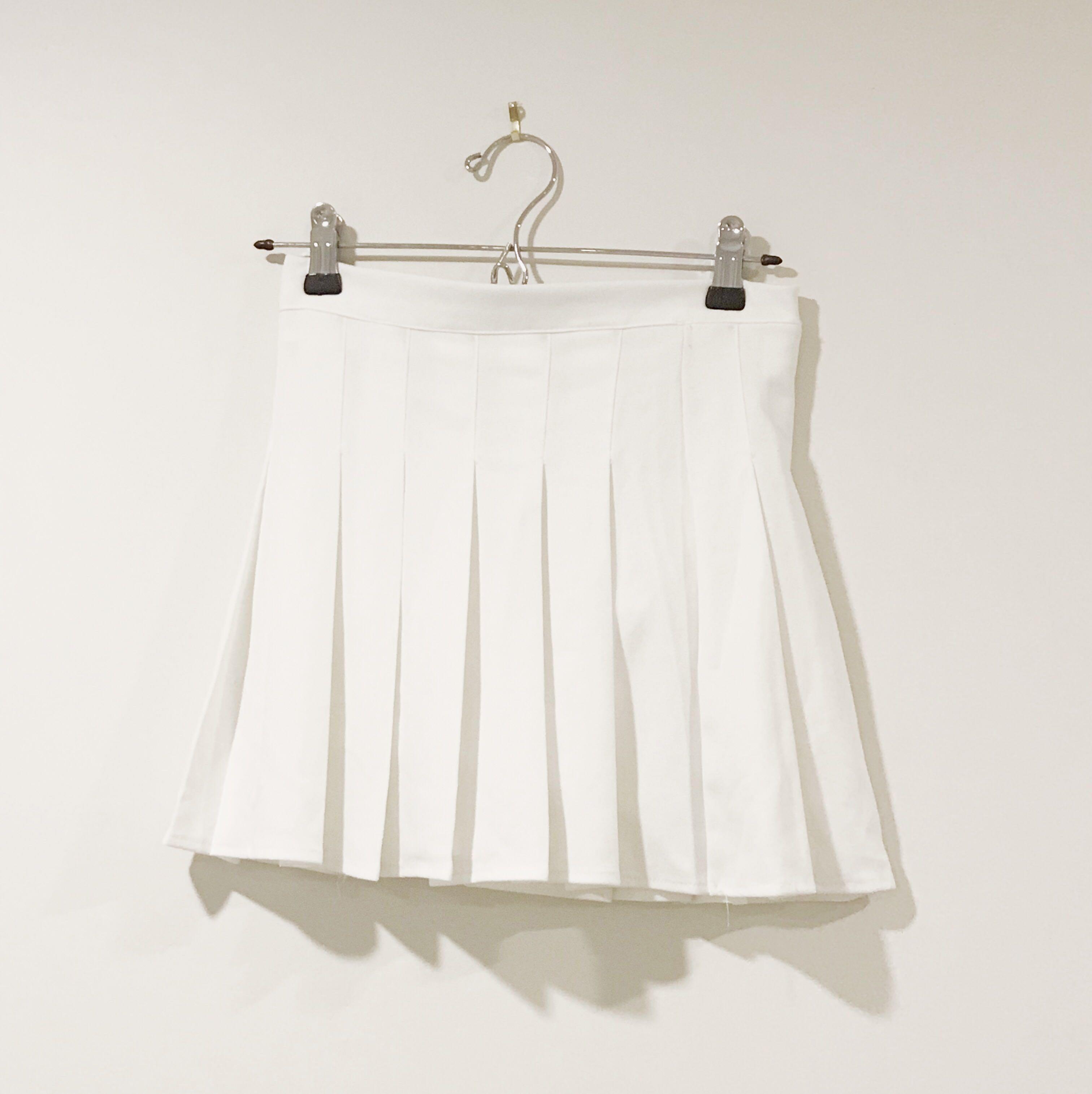 White/Black Tennis skirt