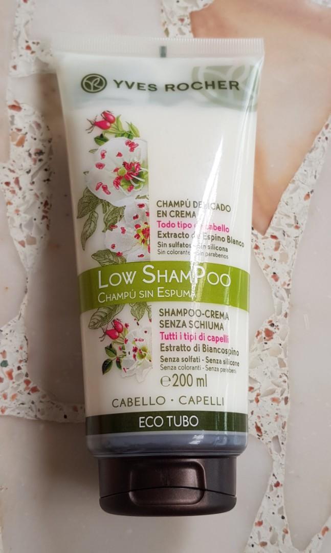yves rocher low shampoo  Yves Rocher Low Shampoo 200ml, Health & Beauty, Hair Care on Carousell