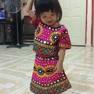 Gujrati dress for newborn till 15years old kids