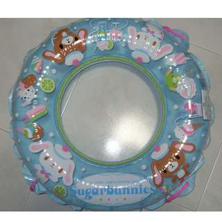 [Clearance Sale] Sanrio Sugarbunnies Inflatable 60cm Swimming Ring Float with Rope