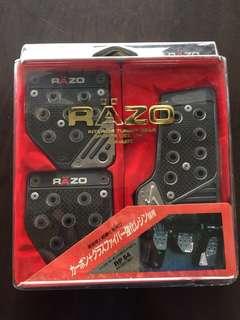 🚚 RAZO-日本製-全新碳纖維款-手排踏板-特價1000
