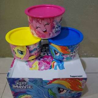 Tupperware One Touch The little Pony