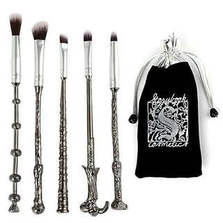 Harry Potter Wand Brush Set